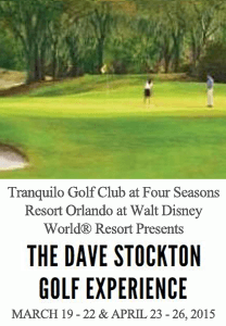 The Dave Stockton Golf Experience